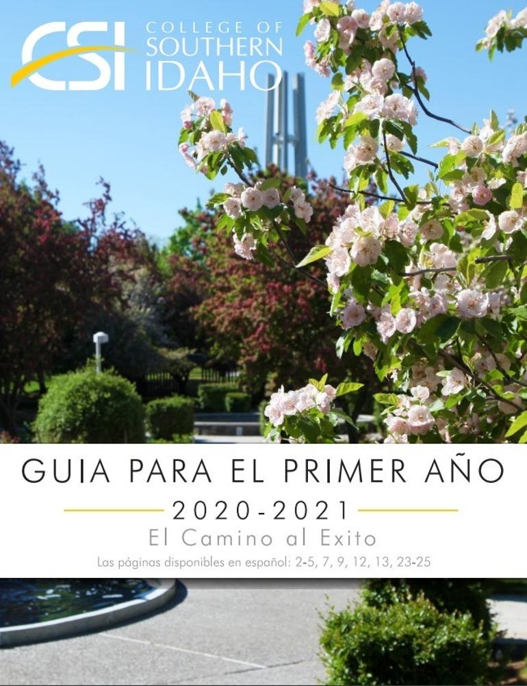 FIrst year advisor PDF in Spanish